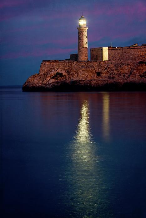 Joan Carroll - Castillo del Morro Lighthouse Havana Cuba