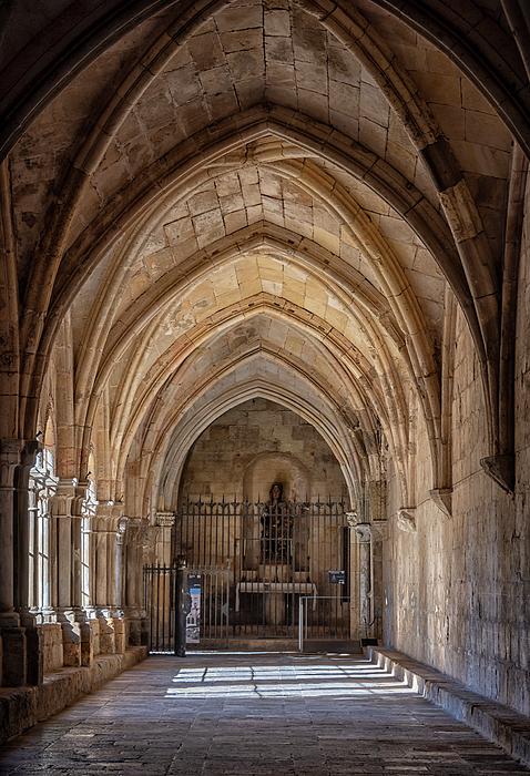Joan Carroll - Cathedral Cloister Tarragona Spain