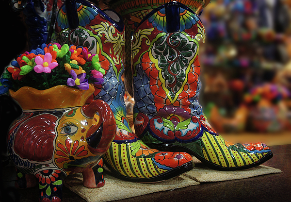 Art Spectrum -  Ceramic Boot