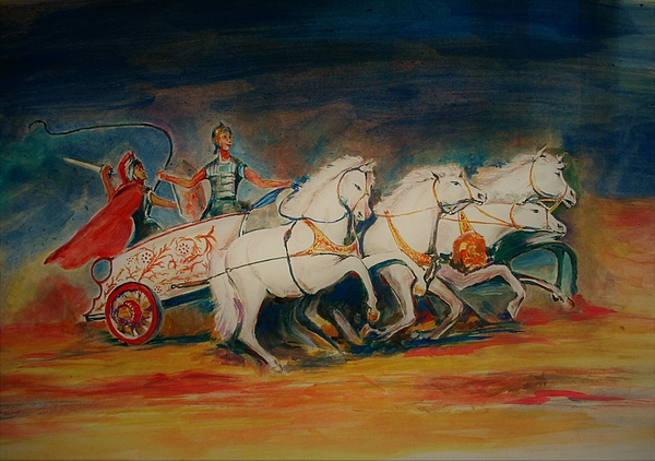 Khalid Saeed - Chariot