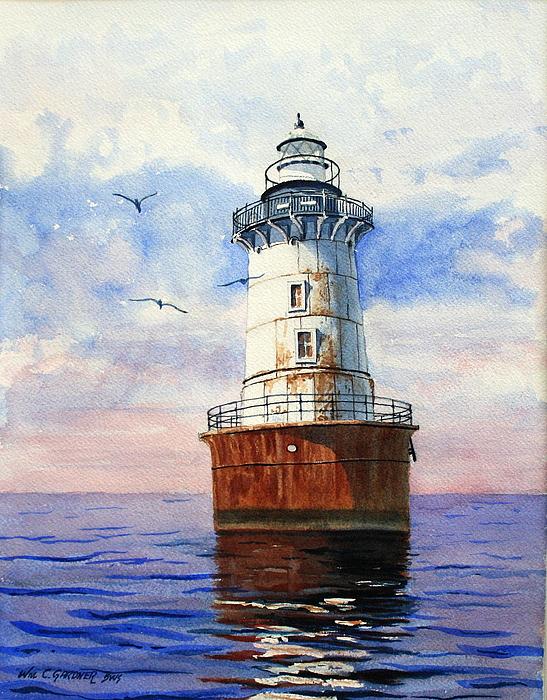 William Gardner - Chesapeake Bay Light House