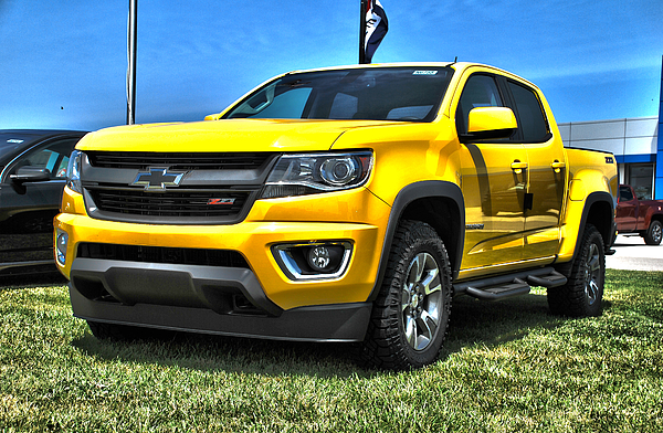 chevrolet colorado trail boss 3 greeting card for sale by adam kushion. Black Bedroom Furniture Sets. Home Design Ideas