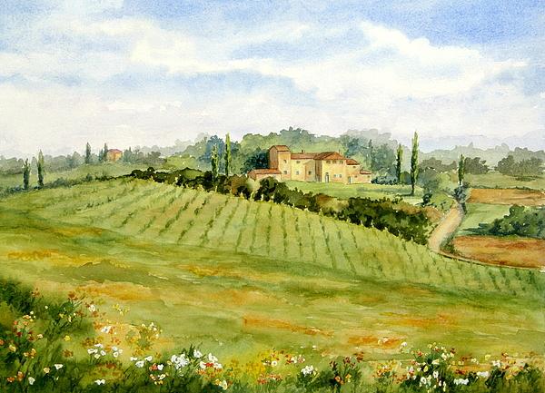 Vikki Bouffard - Chianti Villa
