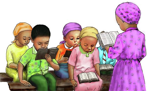 Olanrewaju B K - Children bible study