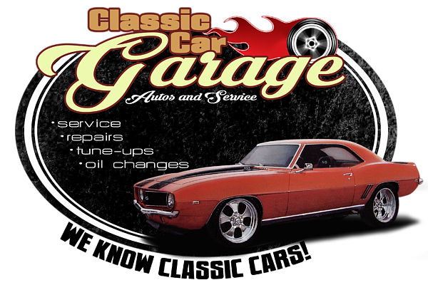 Classic Car Garage Camaro Round Beach Towel For Sale By Paul Kuras