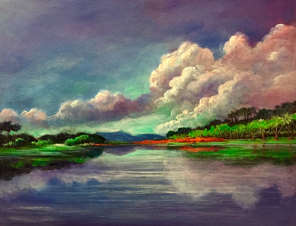 Randol Burns - Clouds and Reflections 2
