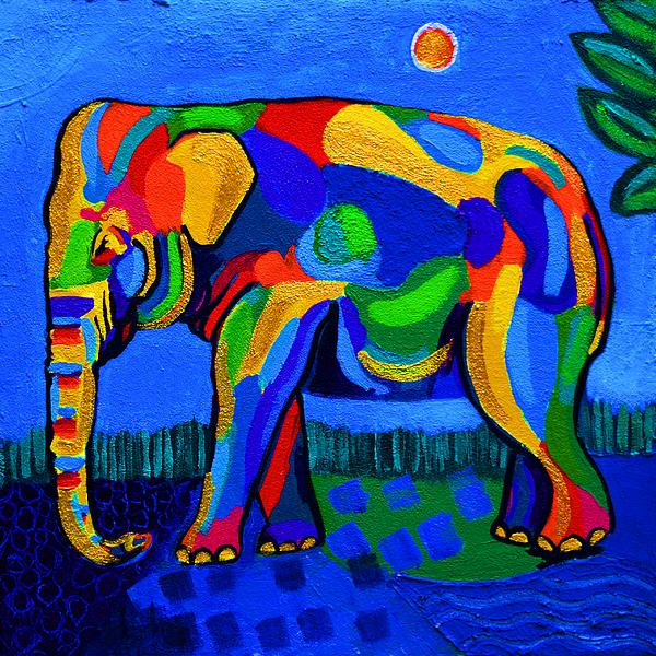Stephen Humphries - Colorful Elephant