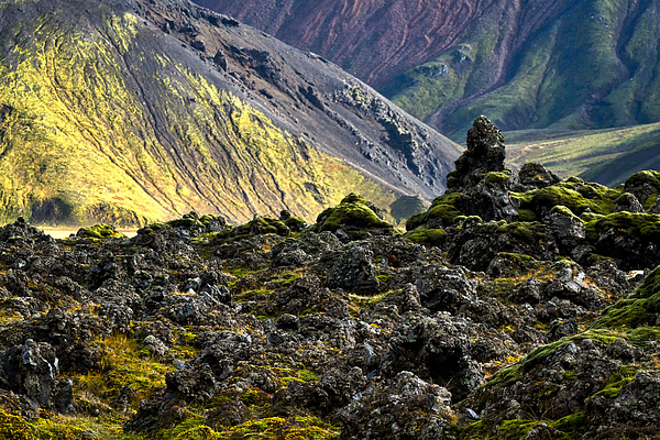 Stuart Litoff - Colorful Icelandic Mountains #4
