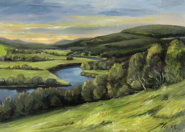 Nancy Griswold - Connecticut River Valley View Two