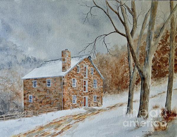 Denise Harty - Cooper Gristmill in Winter