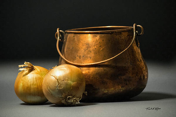 Frank Wilson - Copper Pot and Onions