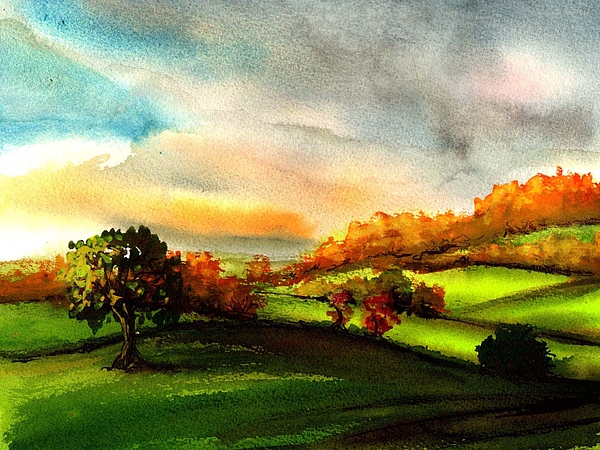Andy Davey - Cotswolds Autumn Sun