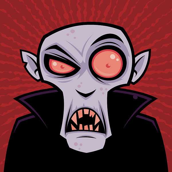 Count Dracula Digital Art
