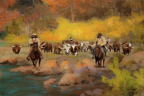 Toni Hopper - Cowboys and Longhorns
