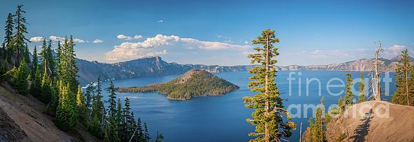 Inge Johnsson - Crater Lake Panorama