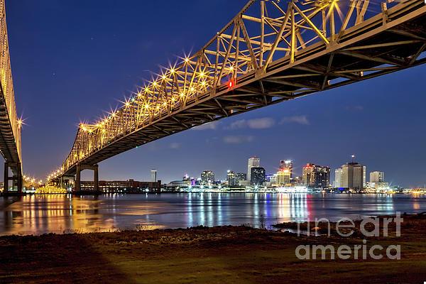 Kay Brewer - Crescent City Bridge, New Orleans