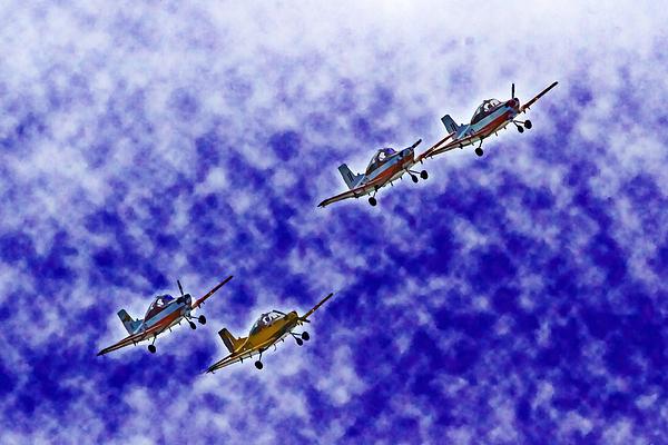 Miroslava Jurcik - CT4  Aerobatics In The Clouds