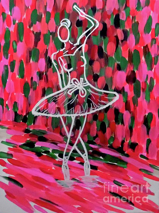 Jilian Cramb - AMothersFineArt - Curtain Call