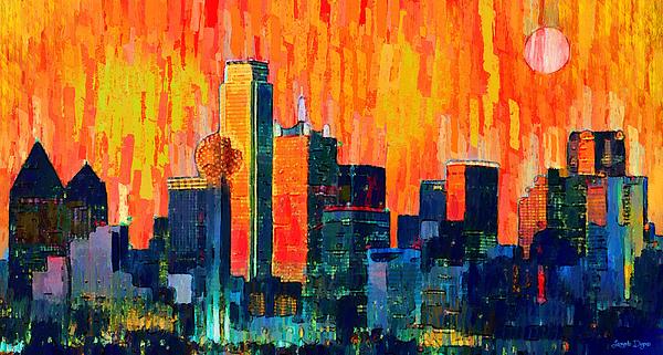 Leonardo Digenio - Dallas Skyline 75 - PA