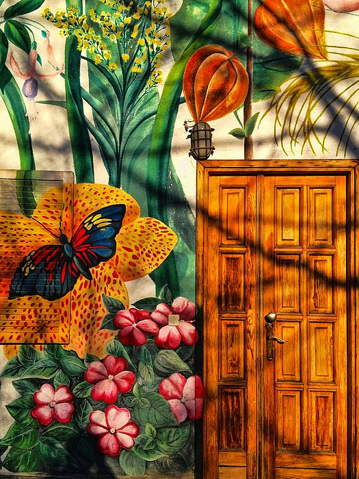 Paul Cutright - Damanhur Door