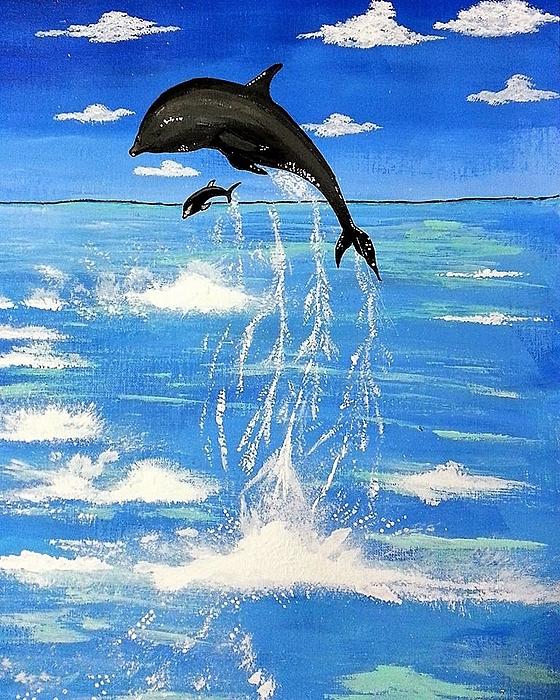 Deepa Sahoo - Dancing Dolphins