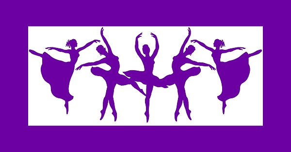 Dancing Silhouettes Painting