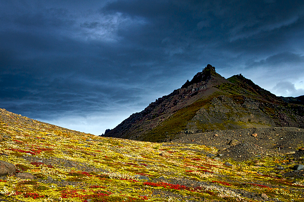 Stuart Litoff - Dark Clouds Over Colorful Ground - Iceland