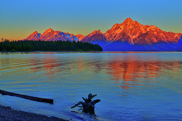 Greg Norrell - Dawn at Colter Bay