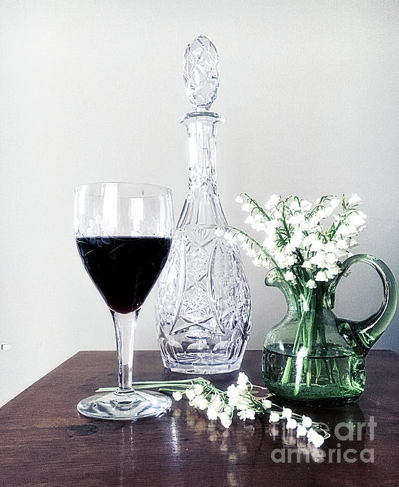 Luther Fine Art - Days Of Wine And Lilies
