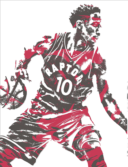 best sneakers dc53a 60b8d Demar Derozan Toronto Raptors Pixel Art 6 Men's T-Shirt (Athletic Fit)