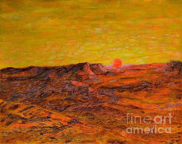 Richard Wandell - Desert Sunset