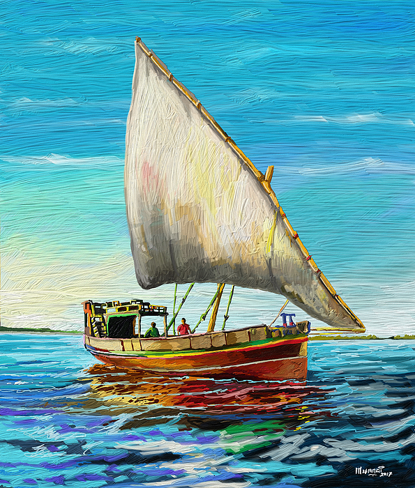 Anthony Mwangi - Dhow at Lamu
