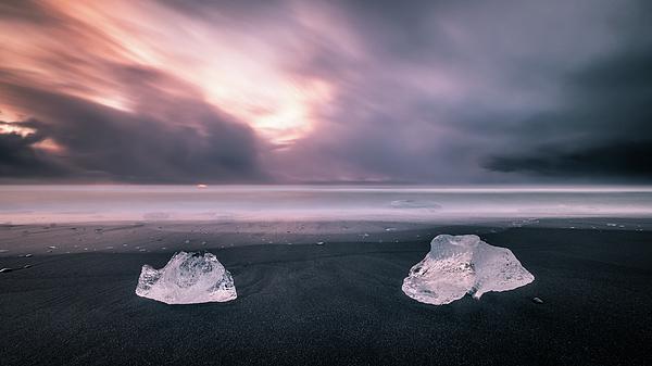 Giuseppe Milo - Diamond beach - Iceland - Seascape photography