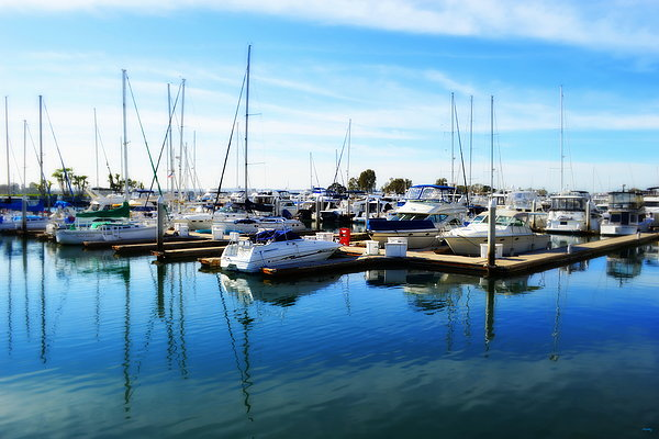 Glenn McCarthy Art and Photography - Docked In San Diego