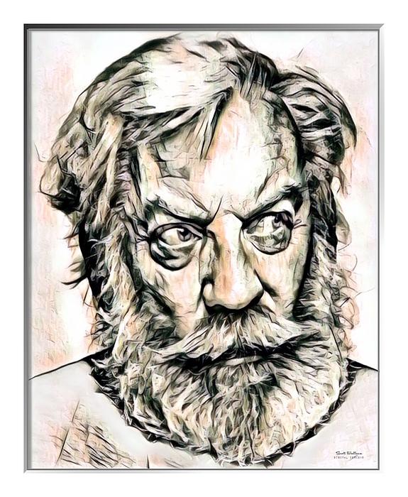 Scott Wallace - Donald Sutherland Illustration