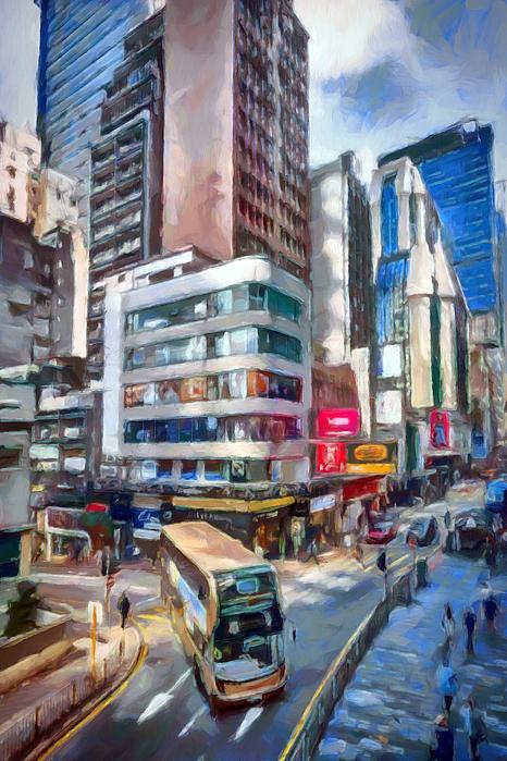Ronald Bolokofsky - Downtown Hong Kong