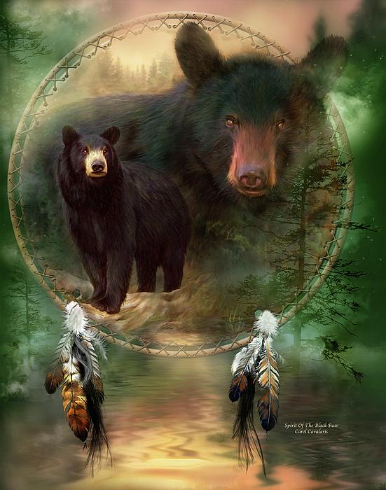 Carol Cavalaris - Dream Catcher - Spirit Of The Black Bear