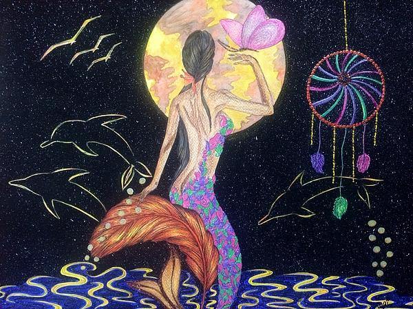 Tejsweena Renu Krishan - Dreaming Mermaid
