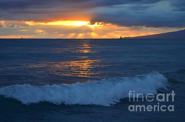 Mary Deal - Early Evening Sunset Waikiki Hawaii - 13