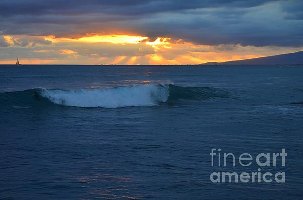 Mary Deal - Early Evening Sunset Waikiki Hawaii - 14