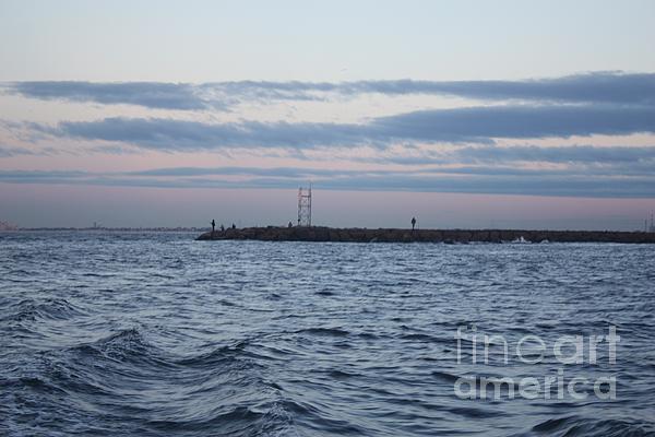 John Telfer - Early Morning Jetty Fisherman
