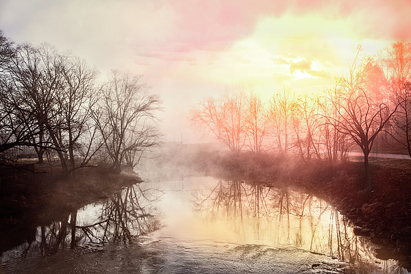 Debra and Dave Vanderlaan - Early Morning on the River