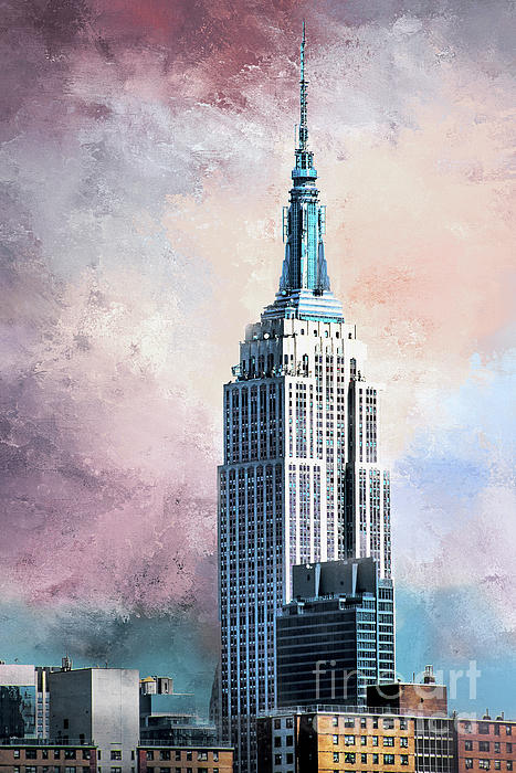 Regina Geoghan - Empire State Building-Head in the Clouds