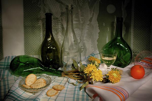 Guido Strambio - Empty wine bottles