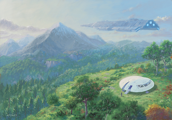 Martin Davey - Exploring New Landscape Spaceship