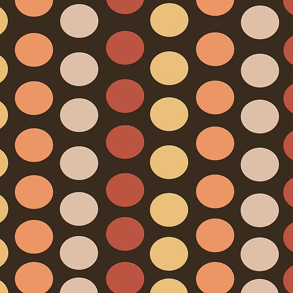 Fall Polka Dots Photograph