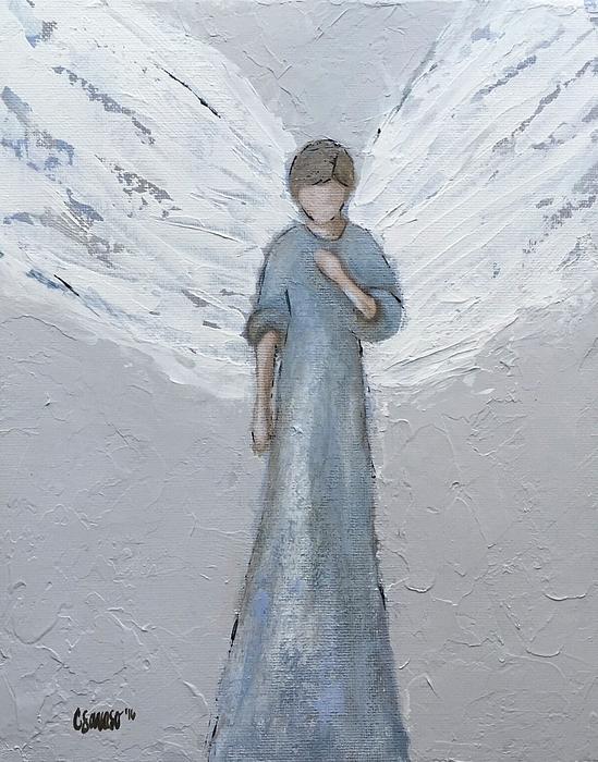 Chandra Savaso - Farmhouse Angel Blue