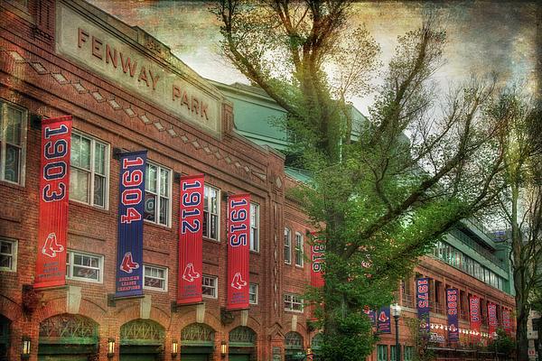 Joann Vitali - Fenway Park Championship Banners - Boston Art