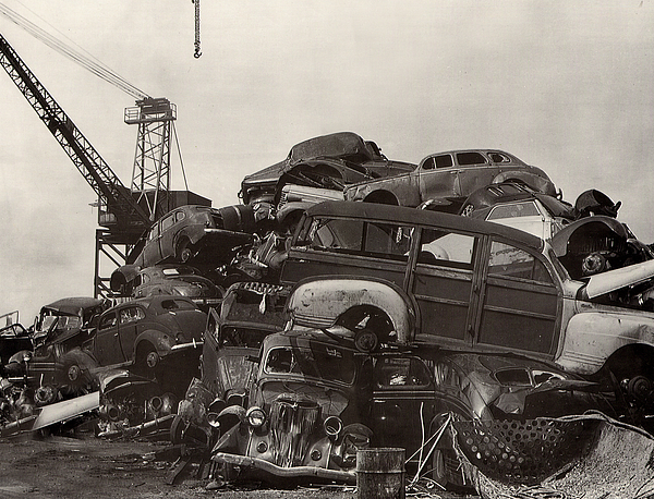 Jack Pumphrey - JUnk Yard of Woody Dream Cars