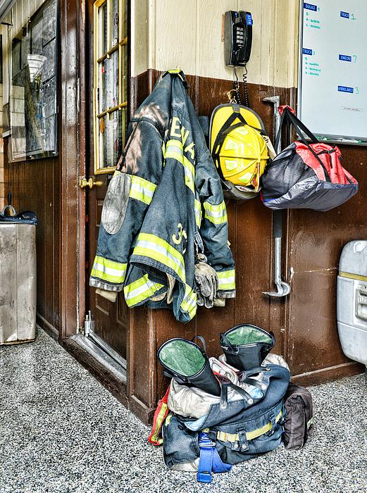 Paul Ward - Fireman - Always ready